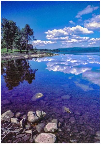 Loch Rannoch Reflections by mac