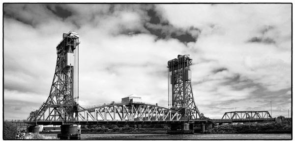 Bridge On The River Tees by DaveRyder