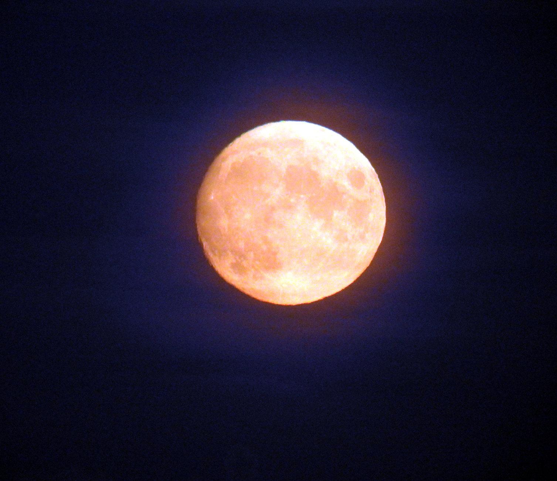 Autumnal moon