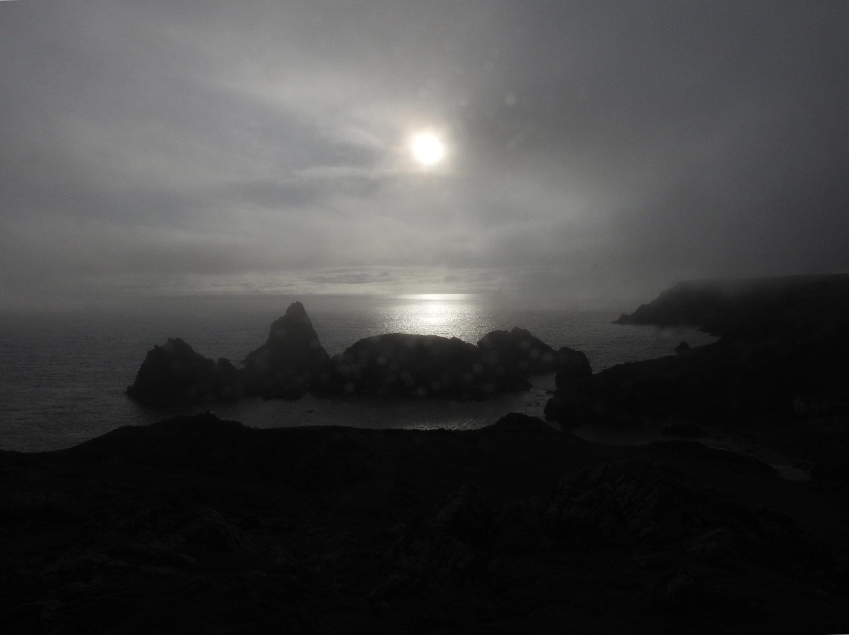 September mid afternoon sea fret