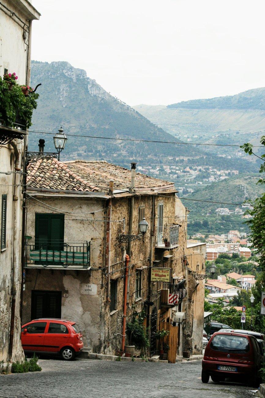 Via Cappuccini, Monreale, Sicily