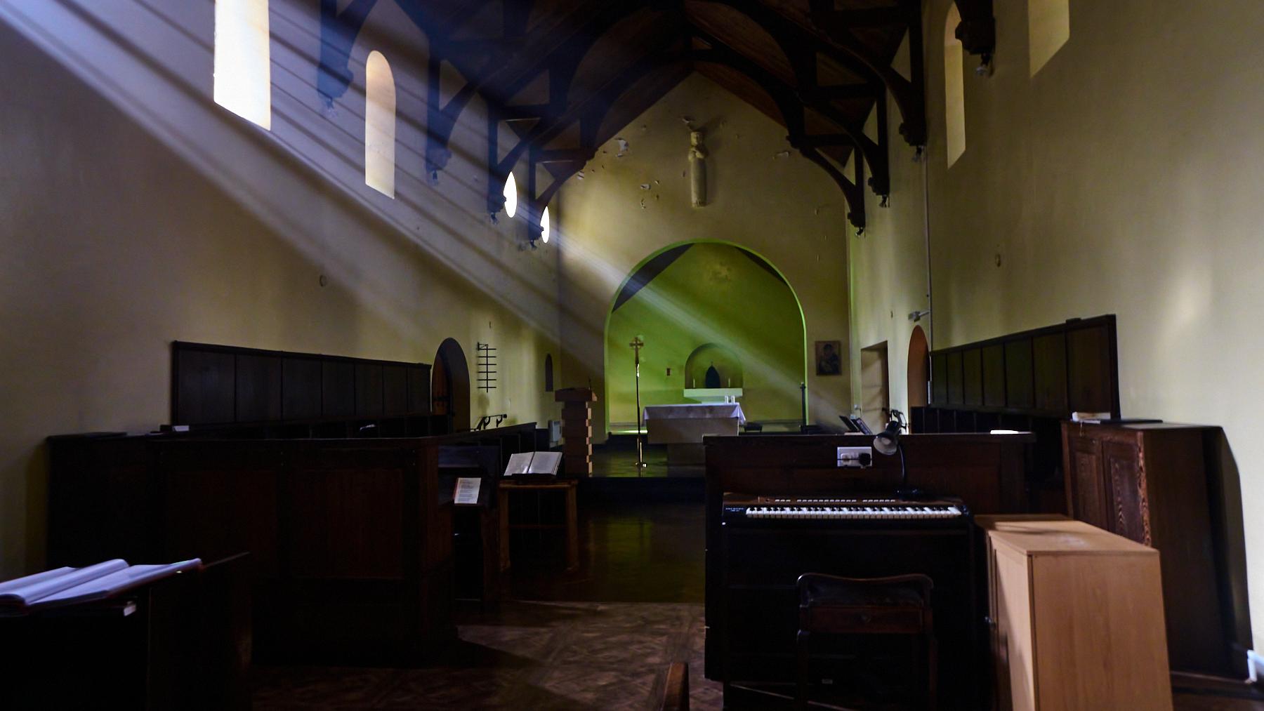 Caldey Abbey Church