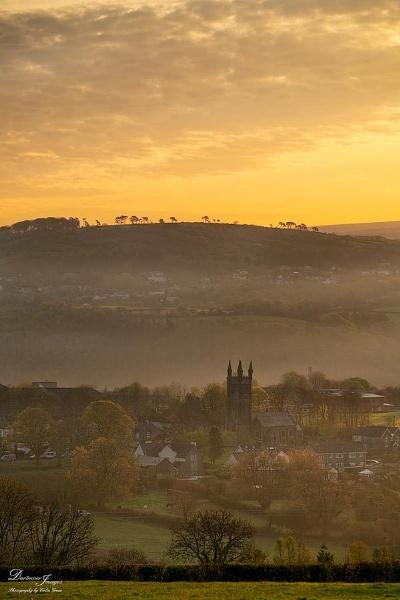 View across the villages by GraceC