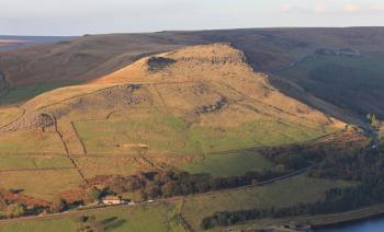 Alderman's Hill from Alphin Pike