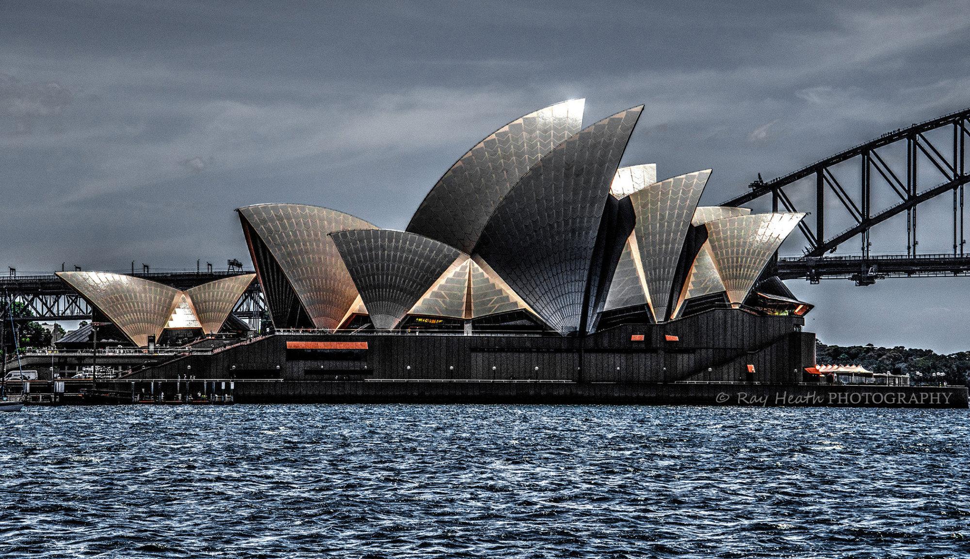 Digital art image 3 of the Sydney Opera House - Australia