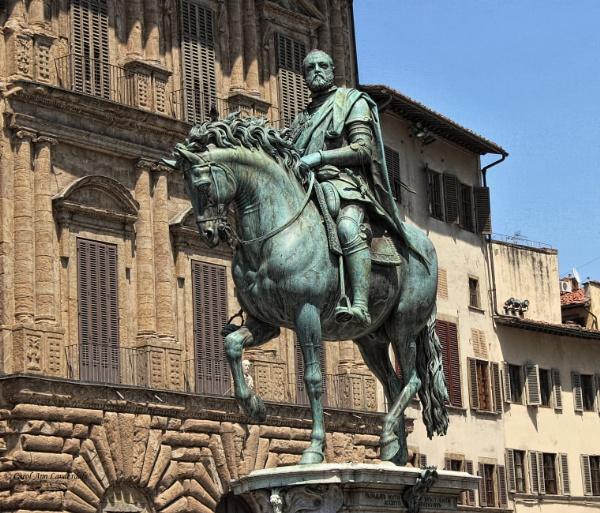 Cosimo de Medici Statue - Florence by canoncarol