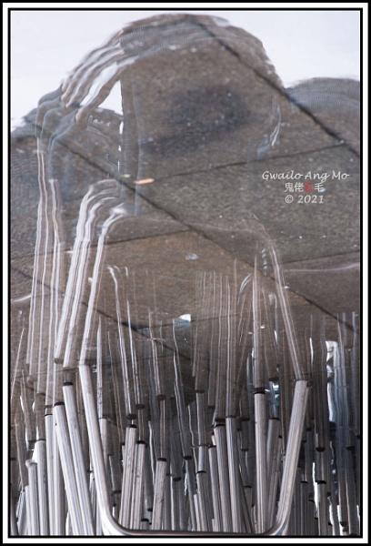 Stacks of seats outside by GwailoAngMo