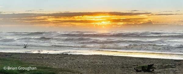 Ocean Sunrise by bgrphotographer