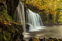 Upper gushing Falls