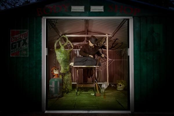 The Halloween body shop. by JackAllTog
