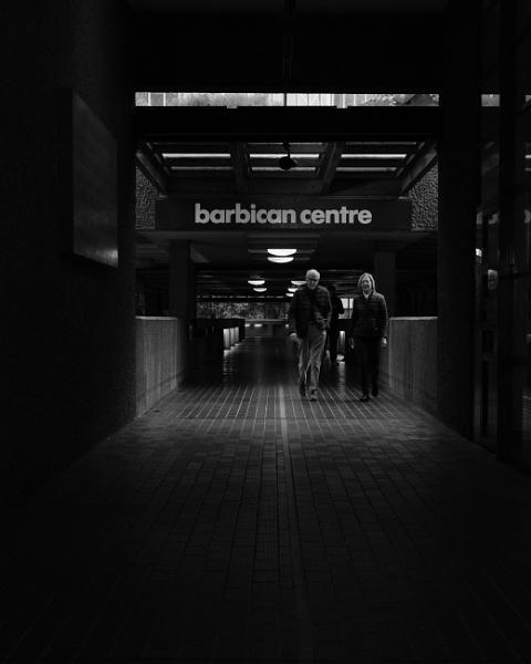 Barbican shadows by iNKFIEND