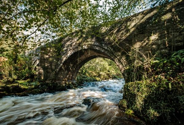 Harford Bridge Dartmoor Devon by topsyrm