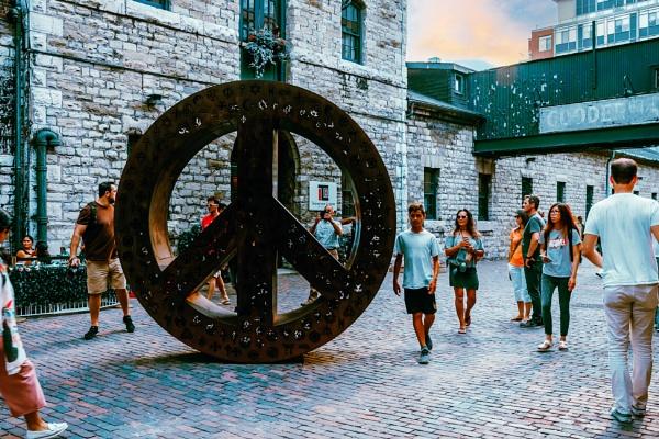 PEACE SCULPTURE by manicam
