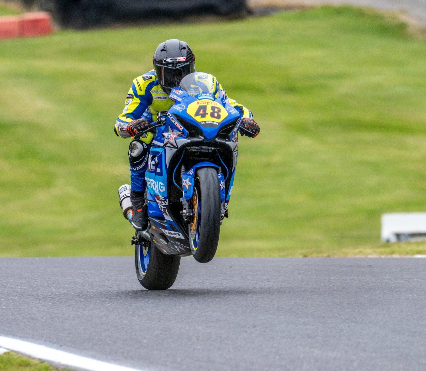 British Superbike Wheelie