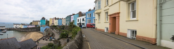 Colourful houses of Tenby by Trekmaster01