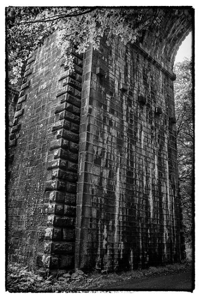 Glendun Viaduct Brickwork, Glens of Antrim, Northern Ireland by digichromeed