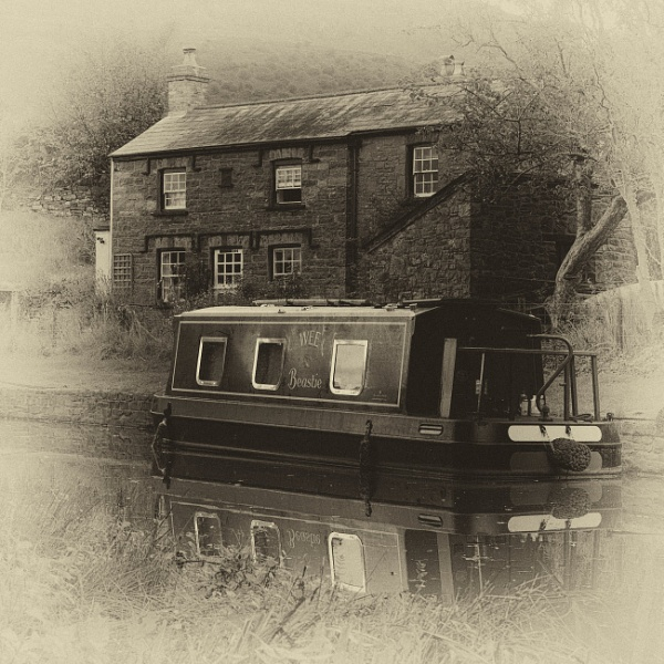 Canal at Crickhowell by PRC