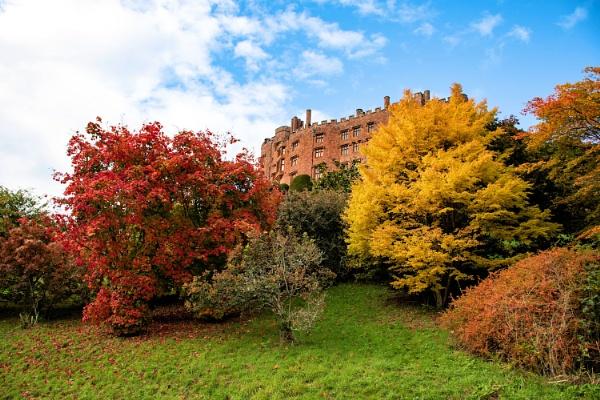 Autumn at Powis Castle by cegidfa