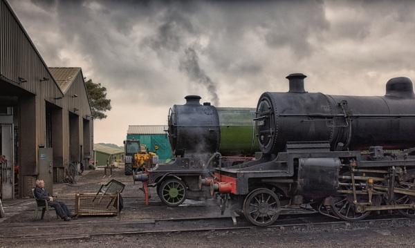 Engine sheds, Weybourne by BigAlKabMan