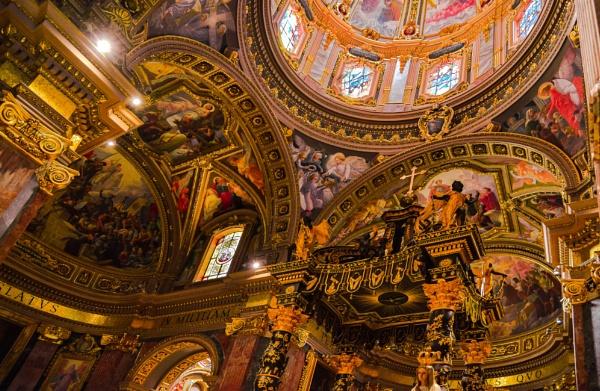 Saint George Basilica ------ VICTORIA GOZO by Edcat55