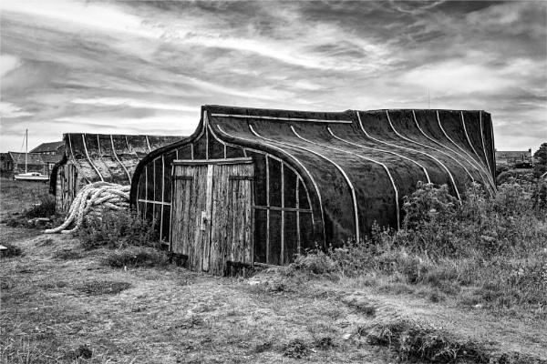 Lindisfarne Boat Sheds by blrphotos