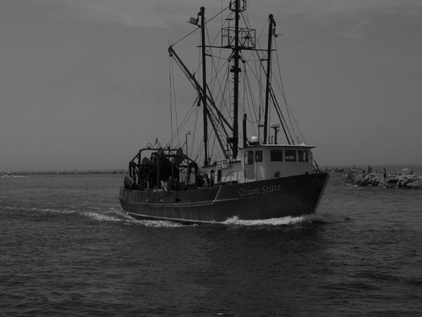 "~ \""Ocean State in Pt. Judith Inlet\"" by LexEquine"