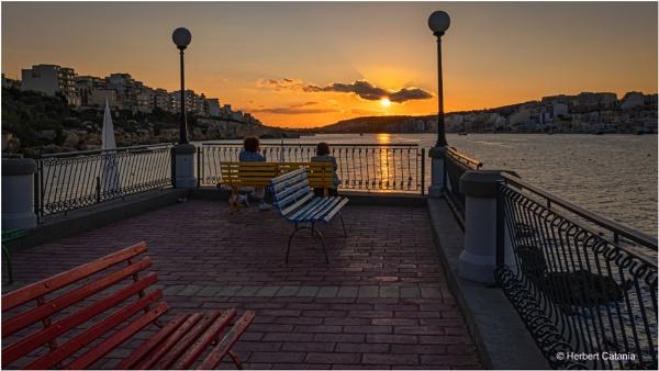 Sunset Gossip by Herbert_Catania
