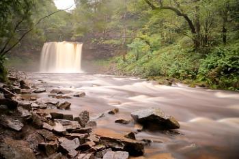sgwd yr era waterfall ,Brecon Beacons.