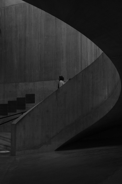 Tate stairs by iNKFIEND