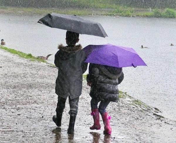 Fun in the Rain by Bigdenbo