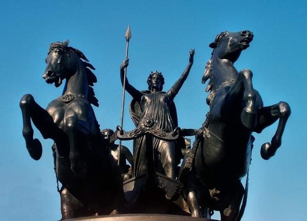 Statue of  Queen Boadicea London  by StevenBest
