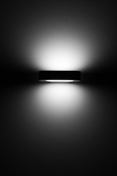 Light of lamp in darkness by rninov