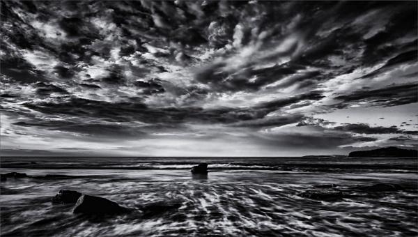 Big Sky Seascape Mono by tvhoward950
