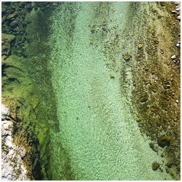 The River( Salza abstract) by bliba