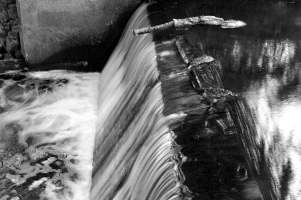 "~ \""Upper Pocasset Pond Waterfall\"" by LexEquine"