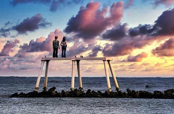 Newbiggin seafront by mmart