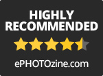 Highly Recommended Award - ePHOTOzine